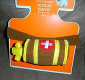 NEW Rescue Dog Barrell Pet Halloween Costume M/L in Kingwood, Texas