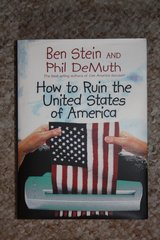 HOW TO RUIN THE USA by Ben Stein & Phil DeMuth in Ramstein, Germany