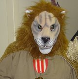 Rubber Lion Mask in Fairfield, California
