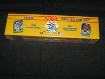 1990 Score Factory Sealed Complete Baseball Card Set in Spangdahlem, Germany