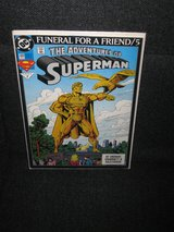 1993 Superman Comic - Funeral for a Friend/5 - The Adventures of Superman #7 in Spangdahlem, Germany
