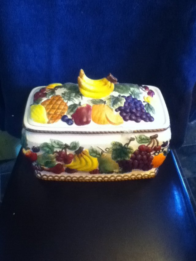 Fruit Bread Box Home Decor For Sale On Fort Campbell Bookoo